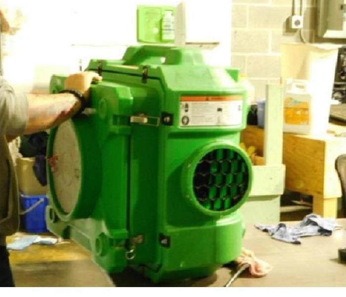 SERVPRO of grants pass/central point Cleaning Equipment