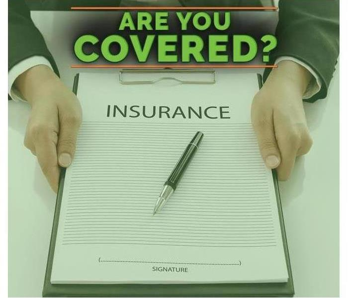 "Meme of insurance document with the words above saying ""Are You Covered."""